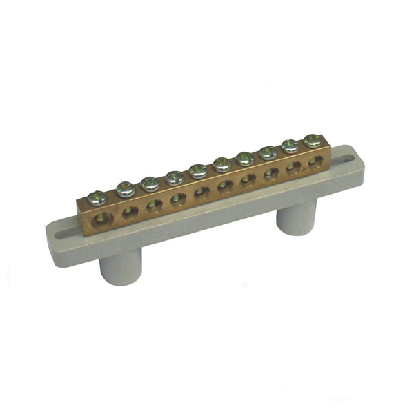 Brass Bus bar Screw Terminal With Holder