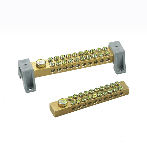 brass terminal blocks(screw type) with plastic cover