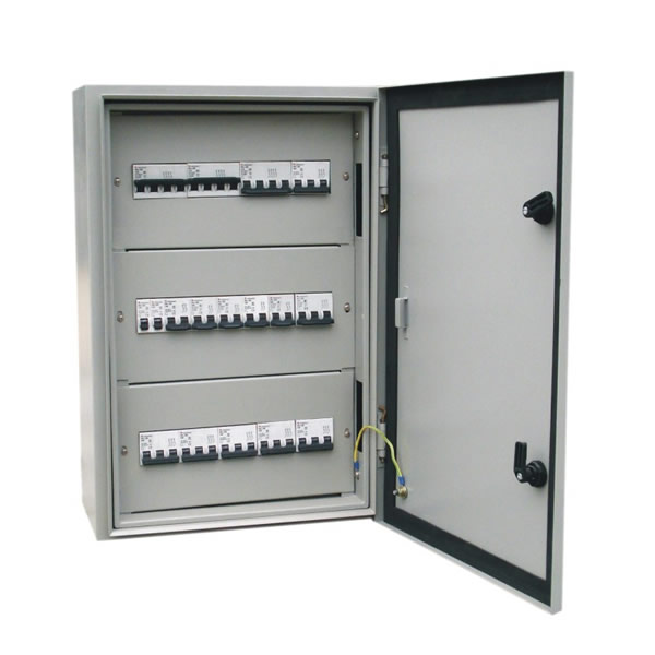 Rainproof distribution box for improving power engineering quality